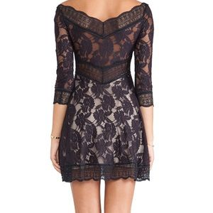 Free People Lacey Affair dress in midnight blue